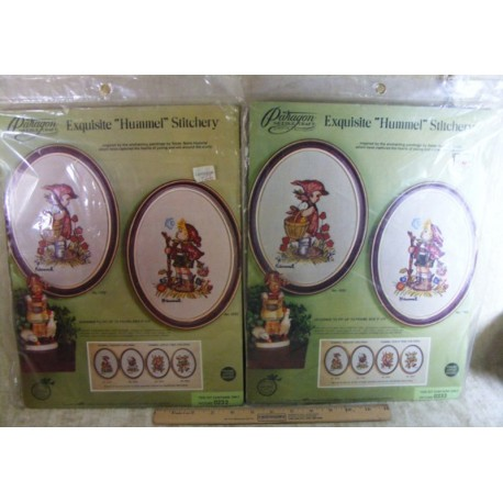 Hummel Crewel Embroidery Kit - Peasant Girl