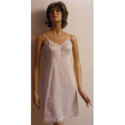 Vintage Vanity Fair Full Slip 1950's Nylon & Lace