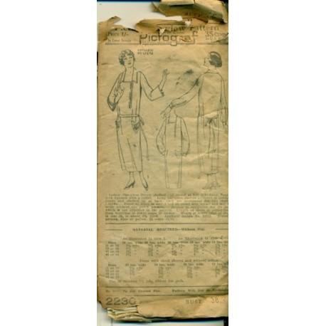 Low Waist Dress Pattern Twenties Flapper