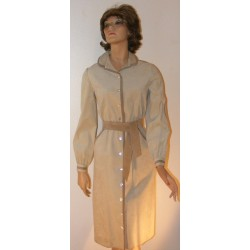 Vintage 1970's Ultra Suede Shirt Dress - Mollie Parnis