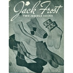 Sock Knitting Patterns 2 Needle Jack Frost