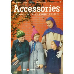 Knit Crochet Patterns Accessories 1950s