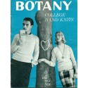 Knitting Pattern Book Women Men Botany 2