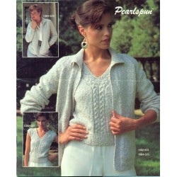 Bernat No. 523 Knitting Pattern Book 1980s