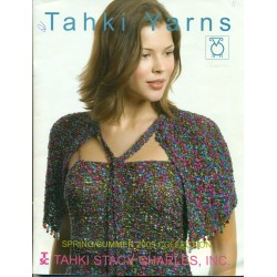 Tahki Knitting Pattern Book Spring Summer