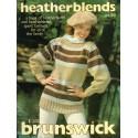 Knit Crochet Patterns 1980s Brunswick 818