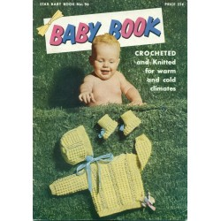 Knit Crochet Pattern Book for Baby Star 96