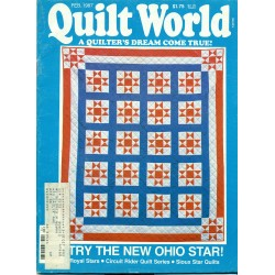 Vintage Quilt Pattern Book - Quilt World 1980s