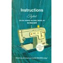 Vint Sewing Machine Manual - Singer Stylist No. 457