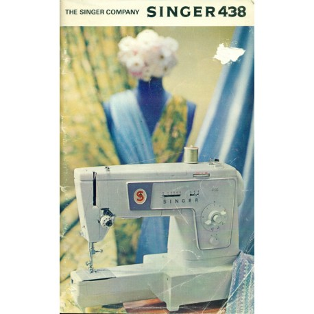 Vintage Sewing Machine Manual - Singer No. 438