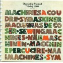 Vintage Husqvarna Viking Sewing Machine Manual No. 6000 and 6440