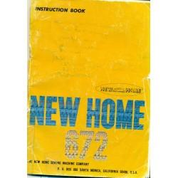 New Home Sewing Machine Manual No. 672