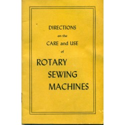 Vintage Rotary Sewing Machine Manual