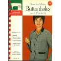 Singer Sewing Library Book No. 109 - Buttonholes and Pockets