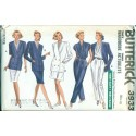 Vintage Womens Wardrobe Sewing Pattern - Skirt Jacket Shirt Pants Shorts - Butterick No. 3933