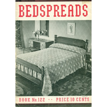 1930s Crochet Knitting Pattern Bedspreads