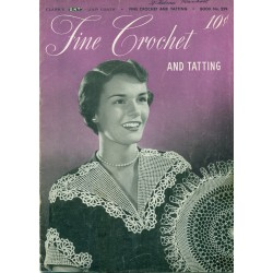Crochet Tatting Patterns Collars Edgings