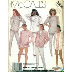 Jacket Shirt Pants & Shorts McCalls Pattern