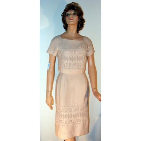 Pencil Dress w/ Jacket Vintage Sheath