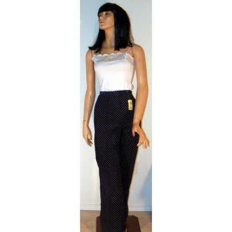Vintage Womens Blue Corduroy Pants - High Waist w/ Tags