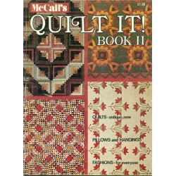 Vintage 1970s Quilting Patterns - McCalls Book II