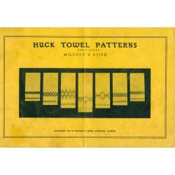Huck Towel Patterns Embroidery Krieg 1st