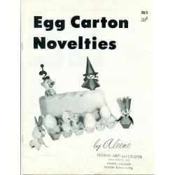 Egg Carton Craft Pattern Book Aleene