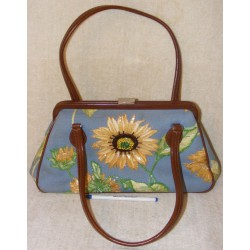 Vintage Isabelle Fiore Handbag - Beaded & Sequined Flowers