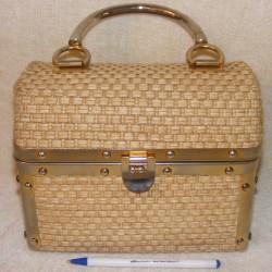 Vintage Rosenfeld Italian Handbag - Chest Style
