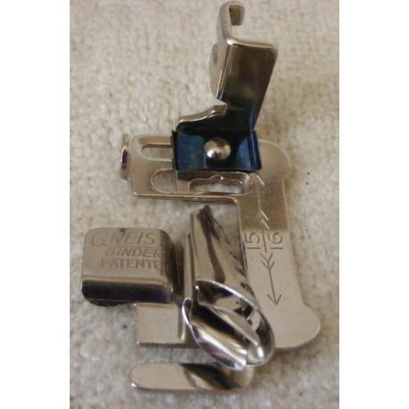 Vintage Greist Multi-Slot Binder Foot - Side Clamp