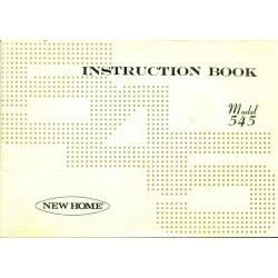 New Home No. 545 Sewing Machine Manual