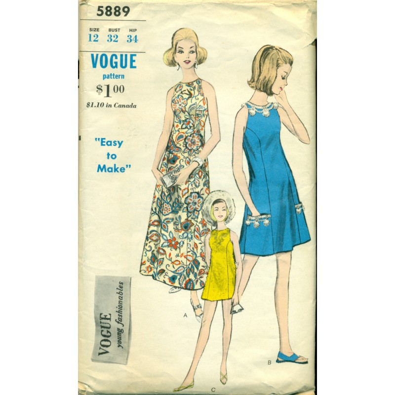 Vintage Vogue Sewing 5