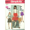 Skirt & Suspenders Sewing Pattern Simplicity