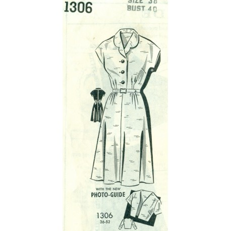Dress & Jacket Sewing Pattern Marchbanks