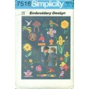 Vintage Iron-On Transfer Patterns - Simplicity No 7516