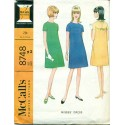 Vintage McCalls Sewing Pattern No. 8748 Mod Dress