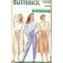 Retro Womens Pants Skirt & Culottes Sewing Pattern