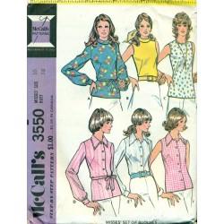 Little Girls Dress Pattern - Retro McCalls No. 3550