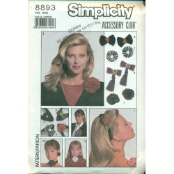 Retro Hair & Accessories Sewing Pattern