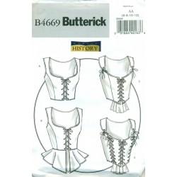 Corset Sewing Pattern - Butterick Historical