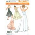 Corset & Petticoat Pattern - Andrea Schewe Simplicity