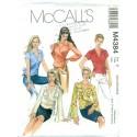 Womens Wrap Shirt Pattern - McCalls