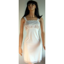 Pale White Full Slip by Val Mode