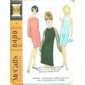Sheath Dress Sewing Pattern 1960s