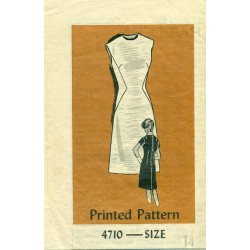 Sheath Dress Sewing Pattern Anne Adams