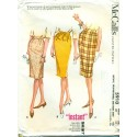 Pencil Skirt Pattern McCalls 1960s