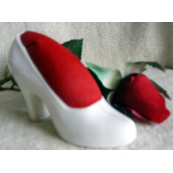 Shoe Pincushion High Heel Collectible