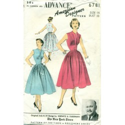 Advance Dress Pattern Pleated Skirt & Bodice