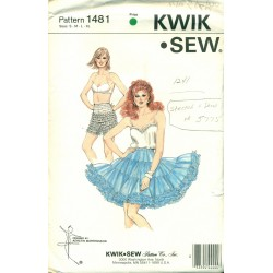 Petticoat Panties Sewing Pattern Sq Dance