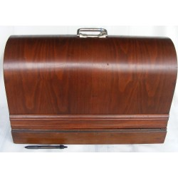 Sewing Machine Case Wood Bentwood Old